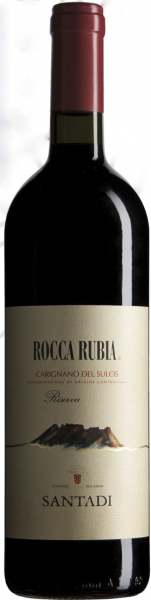 Rocca Rubia Carignano del Sulcis DOC 2017 - Santadi